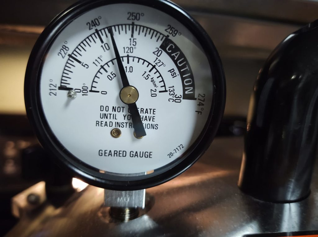 geared steam dial gauge all american pressure canner